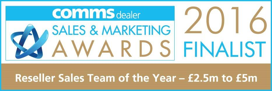 NSN to be finalists in the Comms Dealer Sales Awards