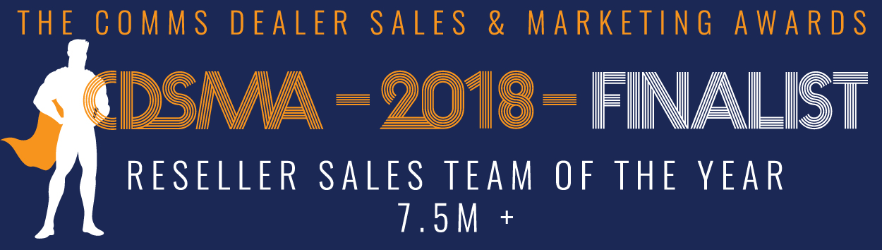 Reseller Sales Team of The Year 2018